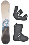 139cm Burton Cruzer Rings Used Snowboard, Build a Package with Boots and Bindings