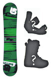 130cm Burton LTR Used Snowboard Package With Boots and Bindings
