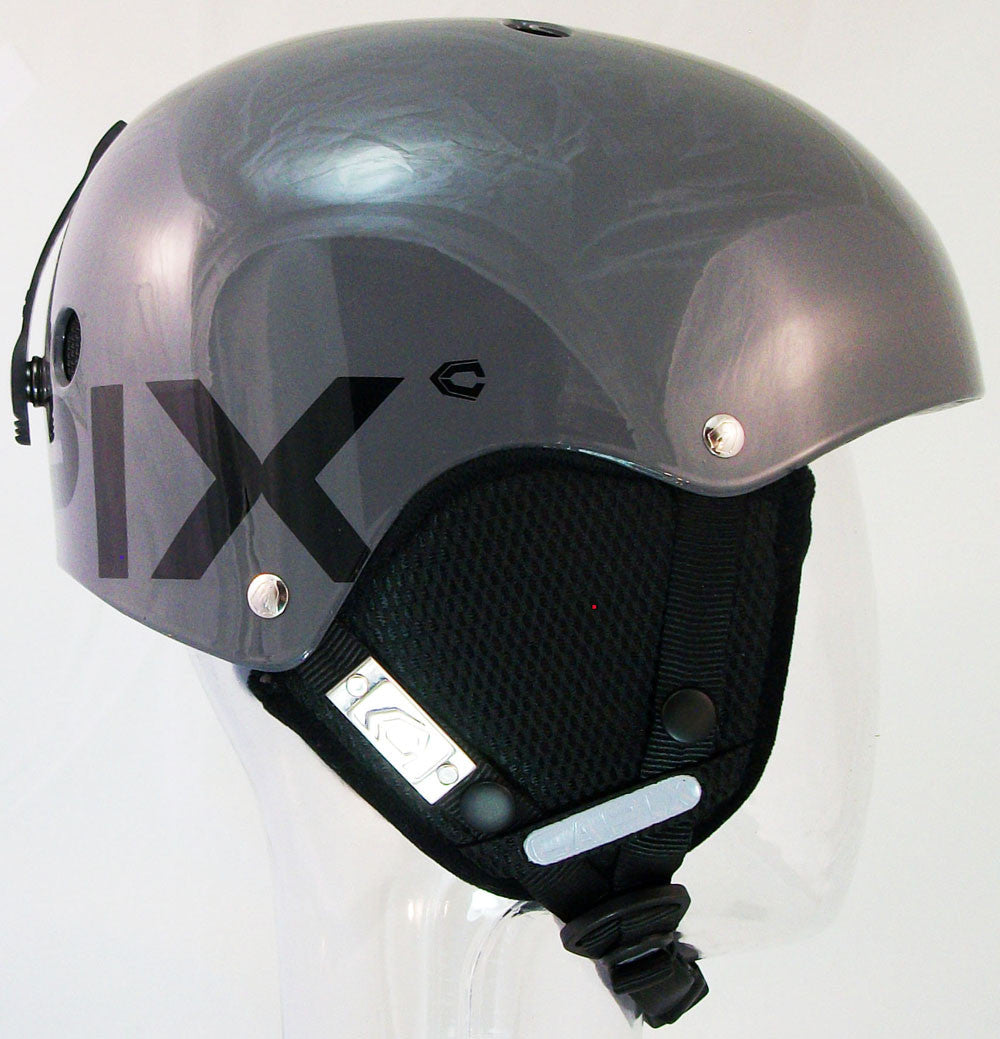 Capix Shorty Grom/Kids Kids Helmet Gray Black snow, skate, wake, bike