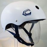 Capix Wake-Opener XL Mens Helmet White  snow, skate, wake, bike