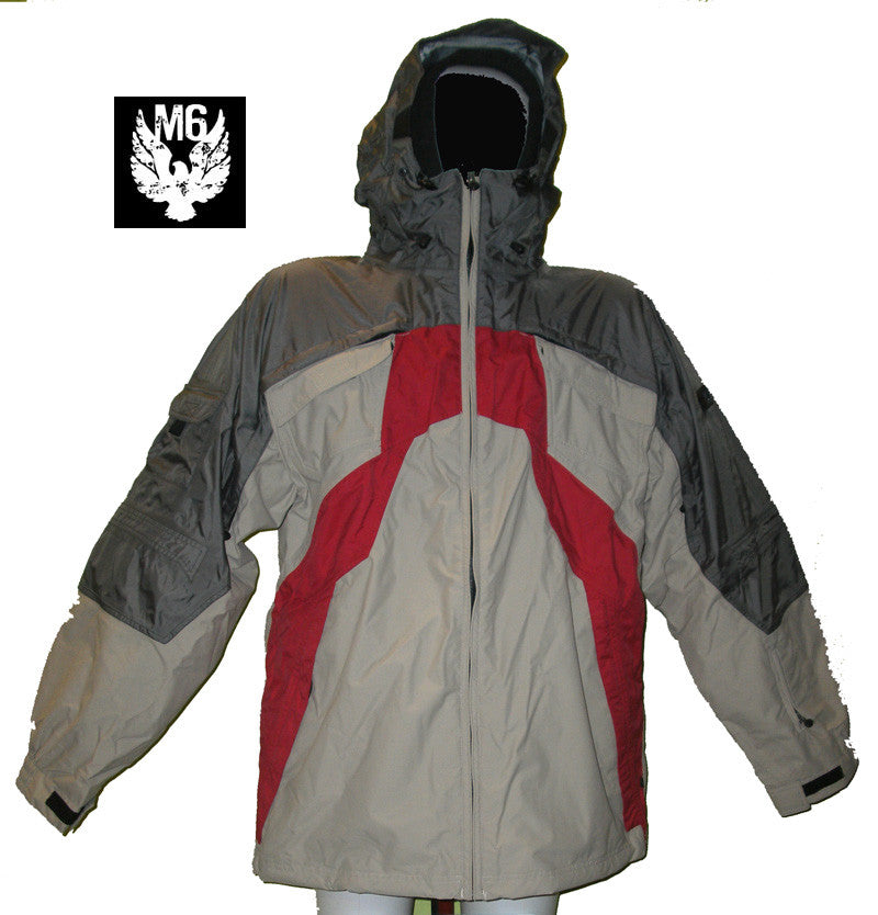 MISSION SIX FRAGMENT SNOWBOARD JACKET XS 20K WATERPROOF jk20