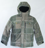 Firefly Ryan Boys Snowboard Ski Jacket Plaid Medium