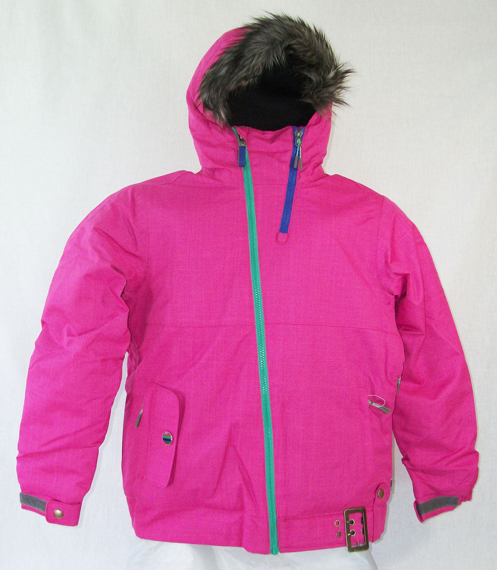 Firefly Jan Girls Snowboard Ski Jacket Raspberry Rose Medium