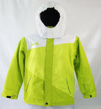 Wipe-Out Wipe Out Kids Snowboard Ski Jacket White Neon Green Medium