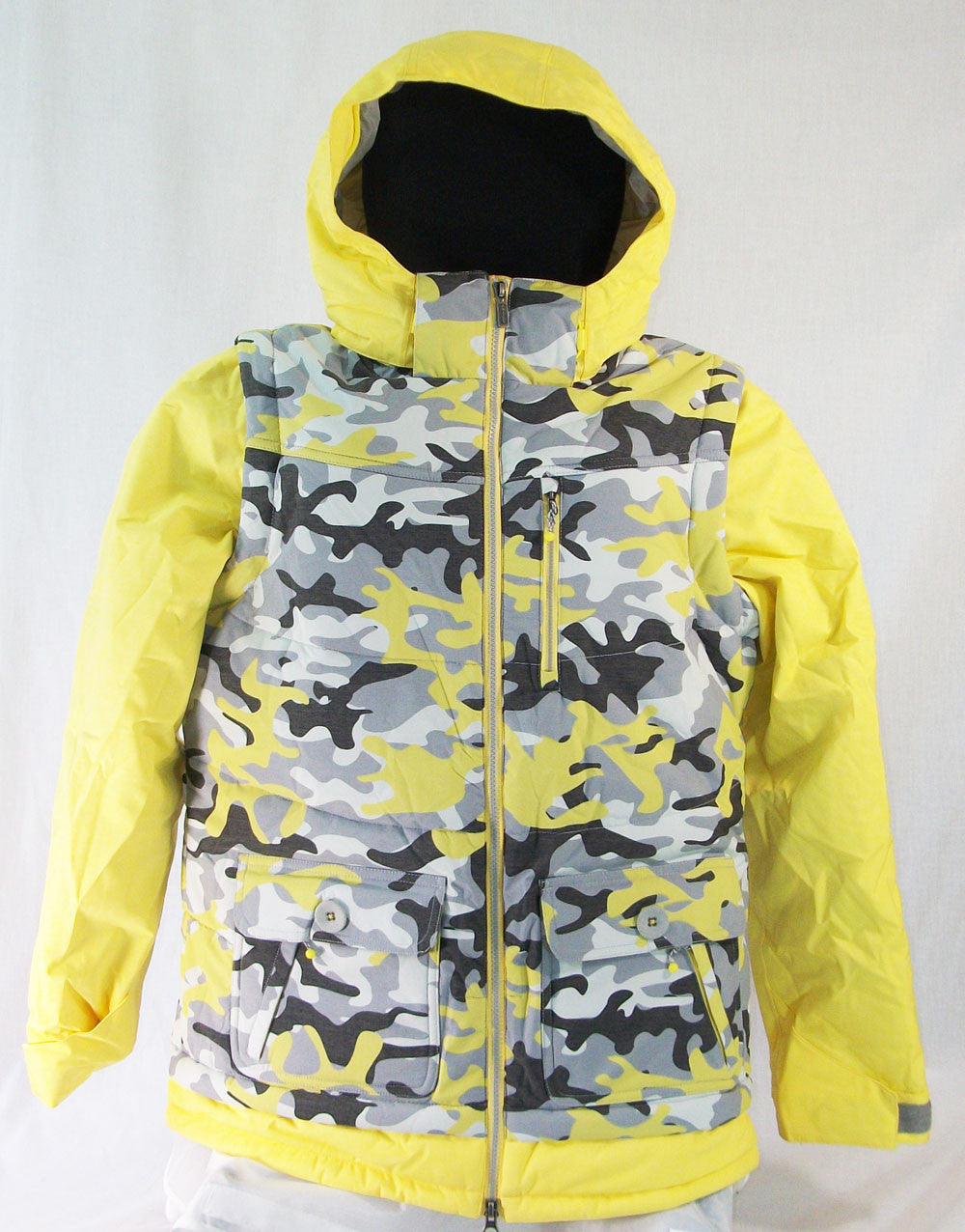 M3 Belle Womens Snowboard Ski Jacket Aurora Camo Aurora Medium