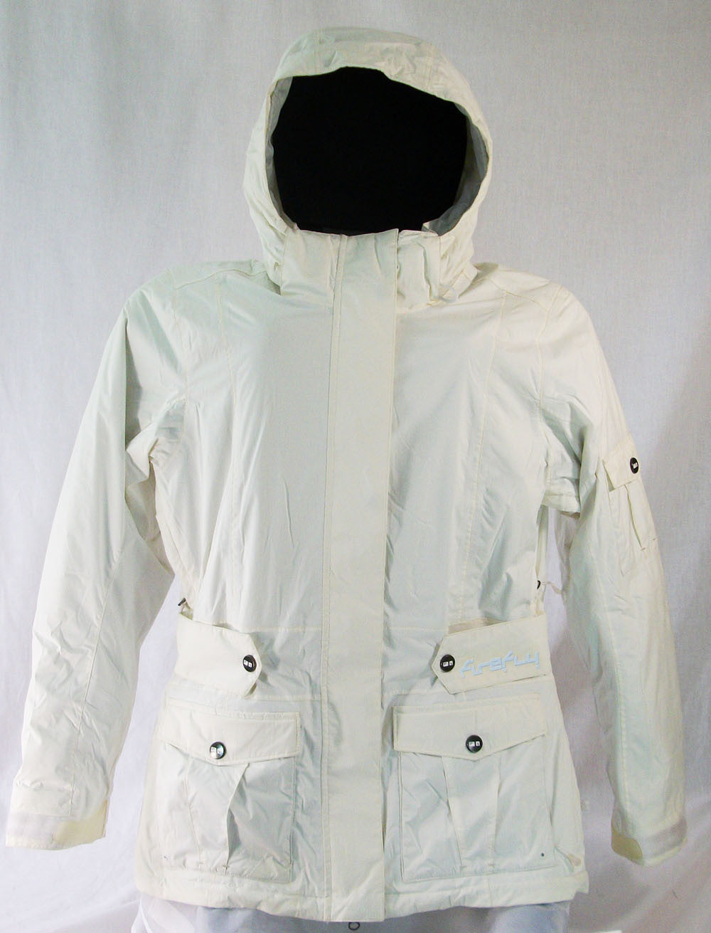 Firefly Victoria Womens Snowboard Ski Jacket Bright White Medium