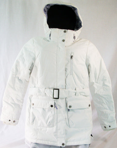 Firefly Hazel Womens Snowboard Ski Jacket Bright White Medium