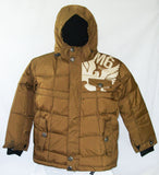 M6 Poor Boy Jr Snowboard Ski Jacket Brown Large