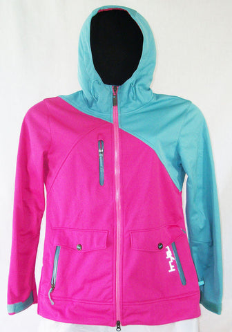 Firefly Lyell Womens Snowboard Ski Jacket Soft Shell Wind Breaker Magenta Medium