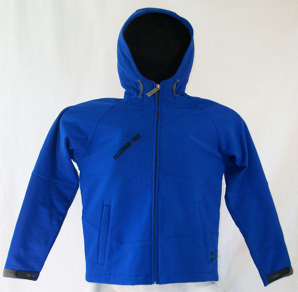 M3 Tabby Womens Snowboard Ski Jacket Soft Shell Wind Breaker Blue Jewel Medium