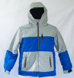 Firefly Greg Boys Snowboard Ski Jacket Pewter Blue Medium
