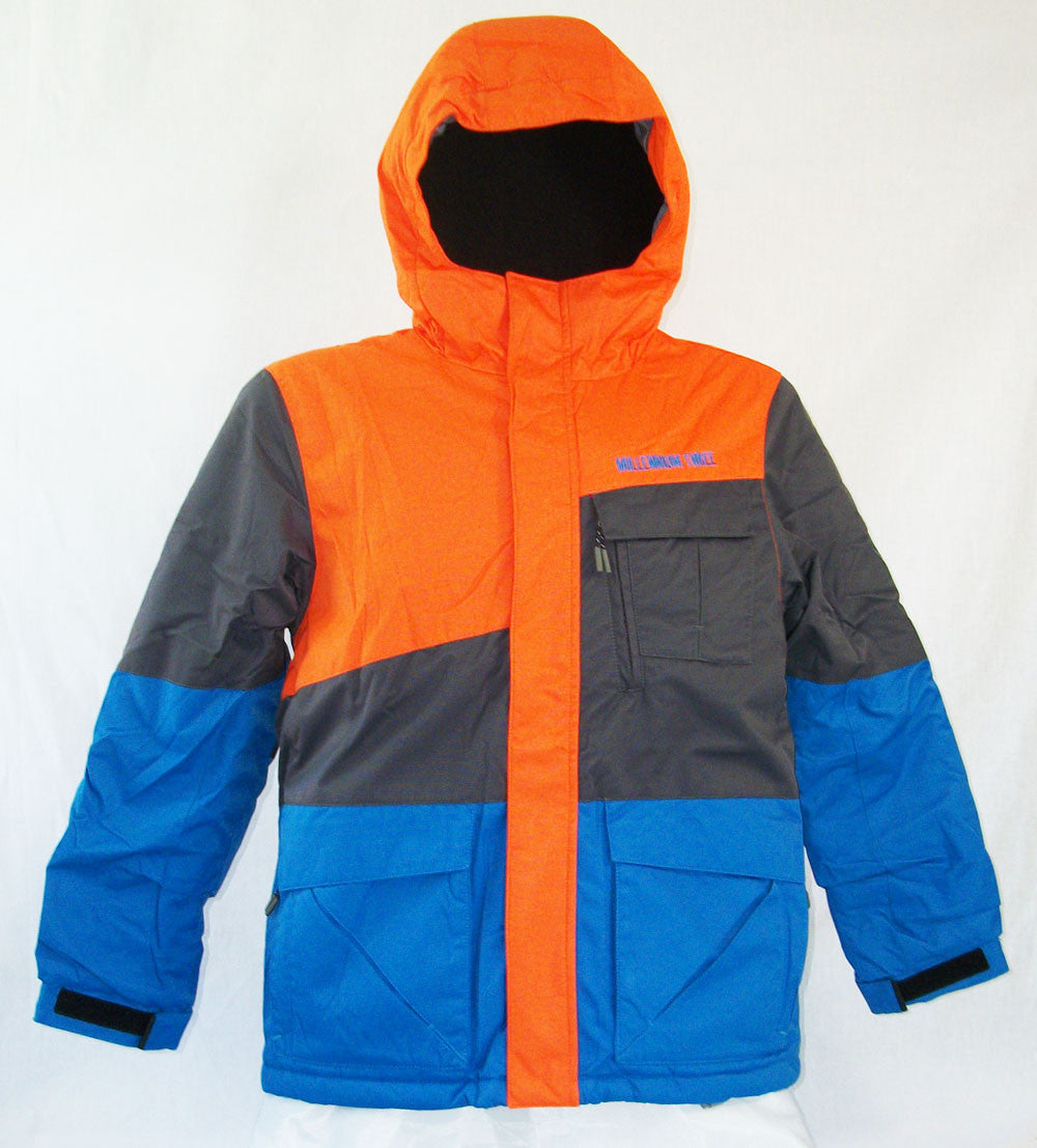 M3 Tom Boys Snowboard Ski Jacket Flame Medium