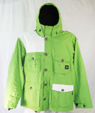 M6 Icon Mens Snowboard Ski Jacket Green Large