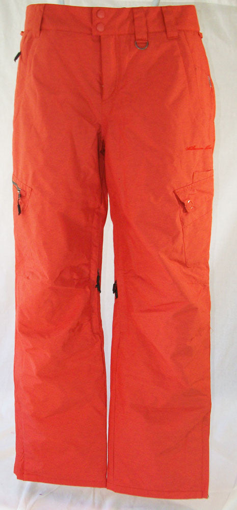 M3 Briggitte Womens Snowboard Ski Pants Mandarin Red Medium
