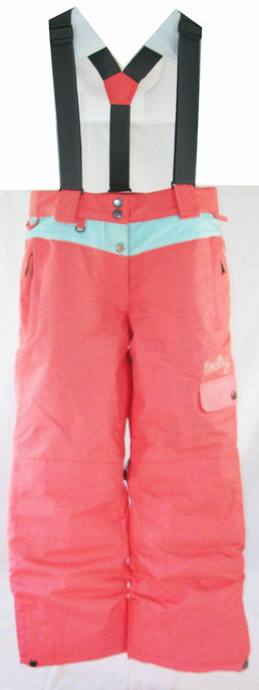 Firefly Cindy Girls Snowboard Ski Pants Peach Medium