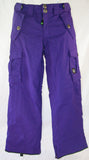 M6 Threat Jr Snowboard Ski Pants Purple Large
