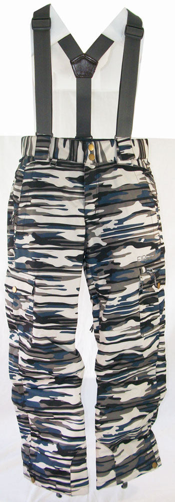 Firefly Mitch Jr Snowboard Ski Pants Camo Medium