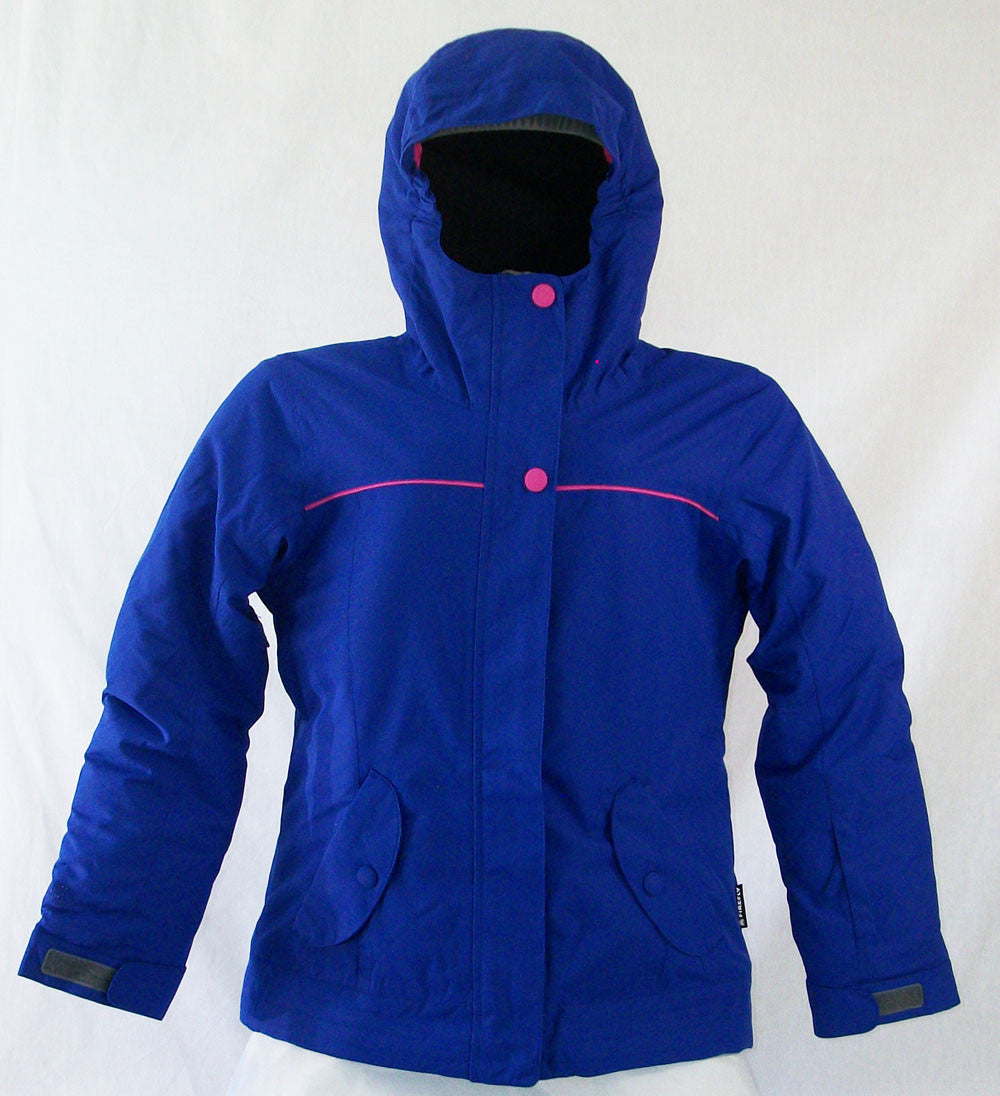 Firefly Flair Girls Snowboard Ski Jacket Blue Dark Medium