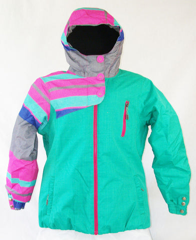 Firefly Carol Girls Snowboard Ski Jacket Arcadia Print Medium