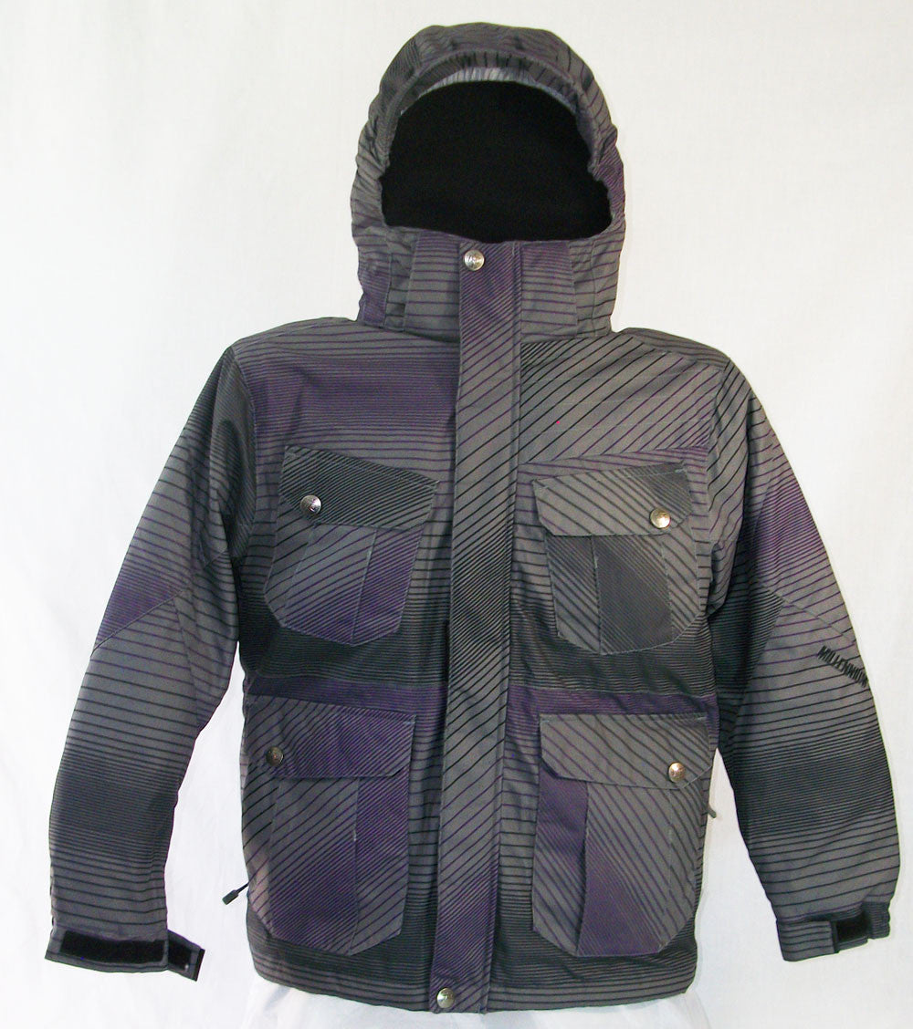 M3 Catheral Jr Snowboard Ski Jacket World Wave Purple Medium