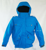 M3 Aerial Girls Snowboard Ski Jacket Blue Jewel Medium