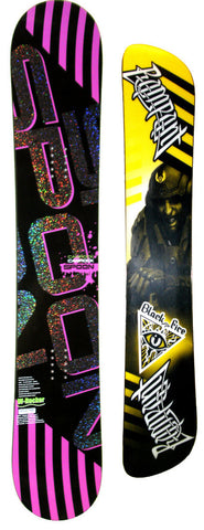 150cm  Spoon Club W-Rocker Snowboard