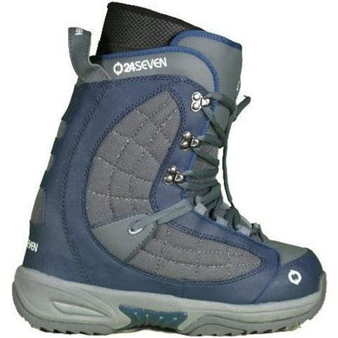 24/7 Quirk Navy Grey Mens Snowboard Boots 9