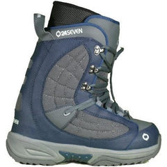 24/7 Quirk Navy Grey Mens Snowboard Boots 7.5 8 8.8 9 9.5