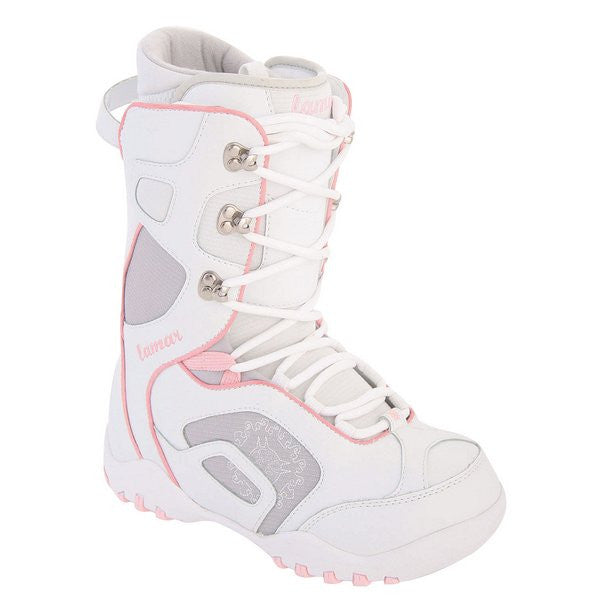 Lamar Women's Force Snowboard Boots White Size 6