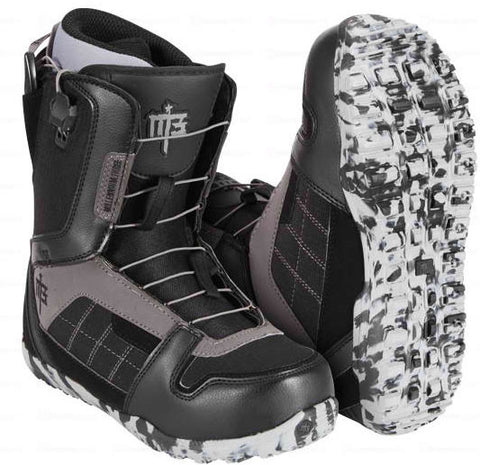 M3 Millenium Three Arsenal Black Mens Speed Lace Snowboard Boots SIZES 8