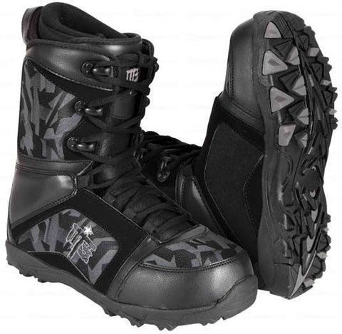 M3 Millenium Three Militia Black Mens Snowboard Boots SIZES 7