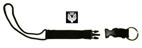 MISSION SIX  snowboard Snap keyring leash skiblade snowblade skiboard snowboarding