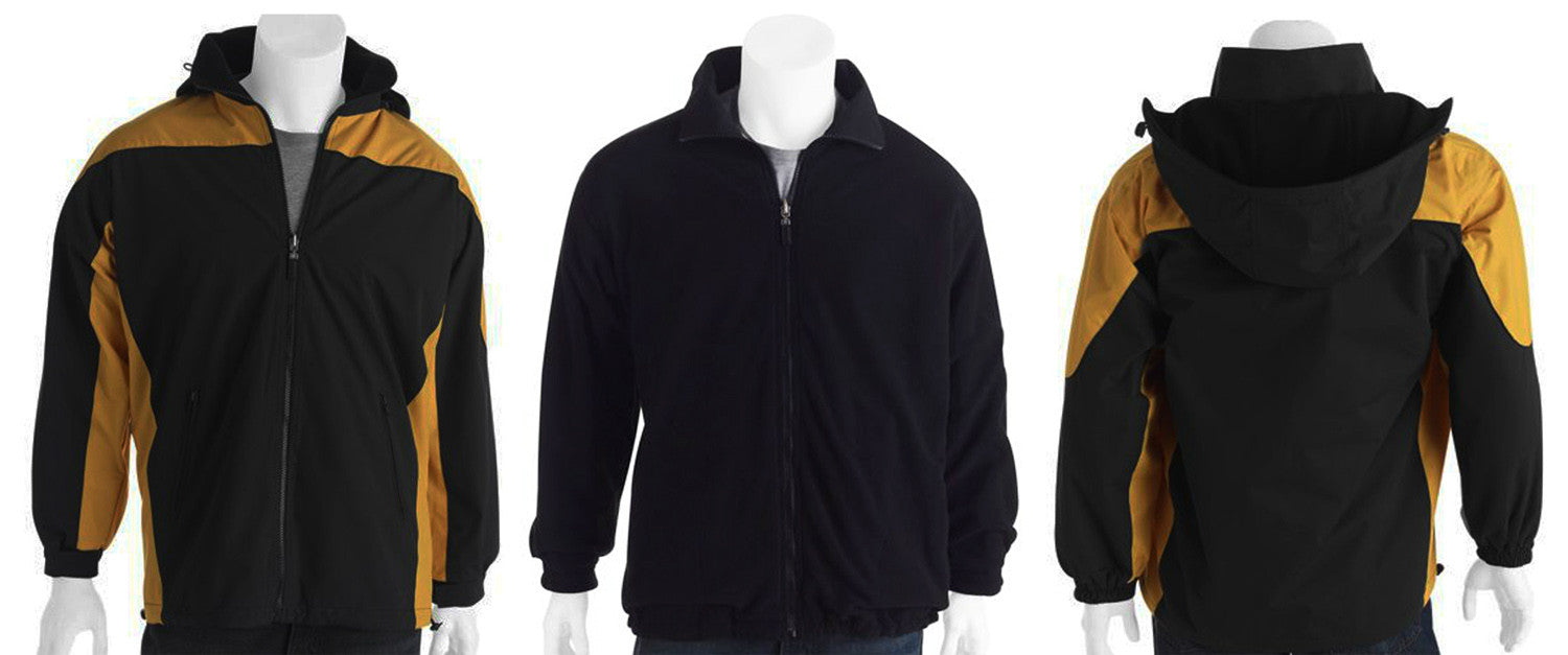 MAXX FLOW SNOWBOARD JACKET snow winter SKI-ING JACKET INSULATED REVERSE FLEECE GOLD - BLK L - XL
