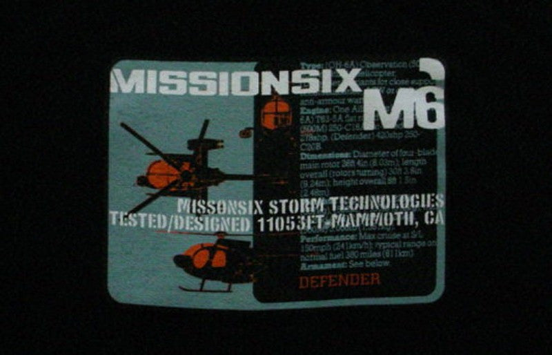 MISSION SIX SNOWBOARD SWEATER HOODED BLK