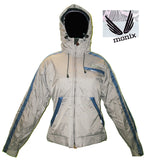 Monix m6 snowboard Jacket womens jump japan Grey 10K small JK38