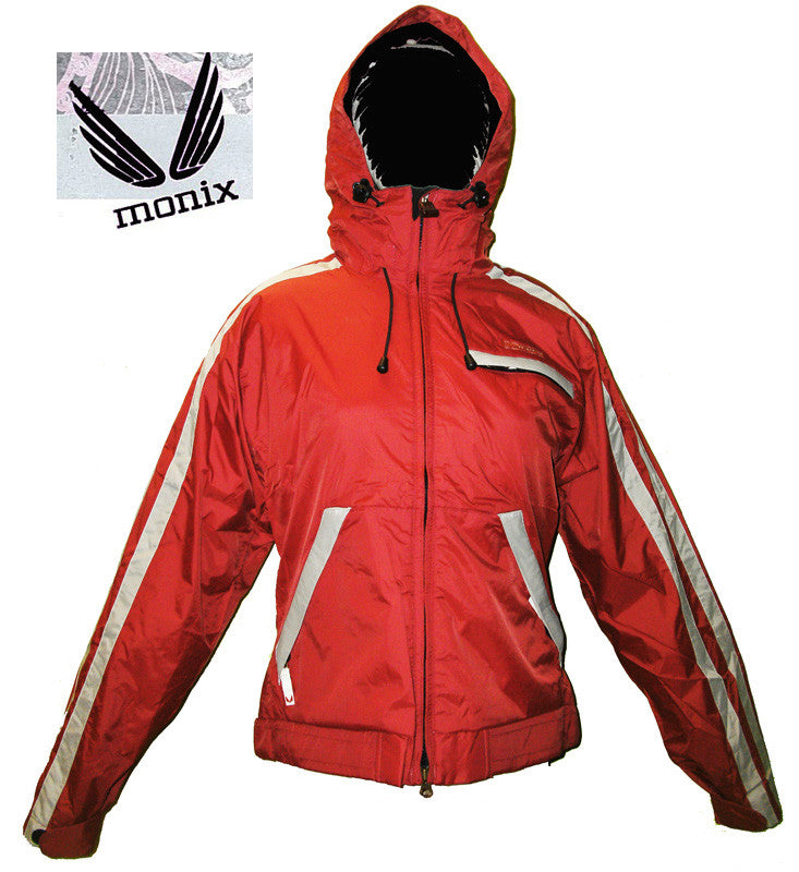 MONIX WOMENS SNOWBOARD JACKET JUMP JAPAN Red XS JK12