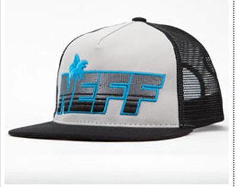 NEFF SUMMER-TIME SNAPBACK TRUCKER HAT CAP