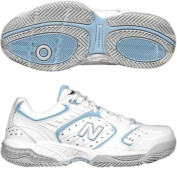 New Balance wc654w Women Tennis Court Shoes D Wide 6 1/2