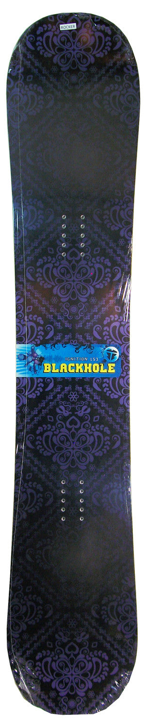 153cm Black Hole Ignition Lace Rocker Snowboard