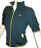 NIKE FIT DRY WOMENS SHARAPOVA TENNIS TRACK JACKET WARM UP