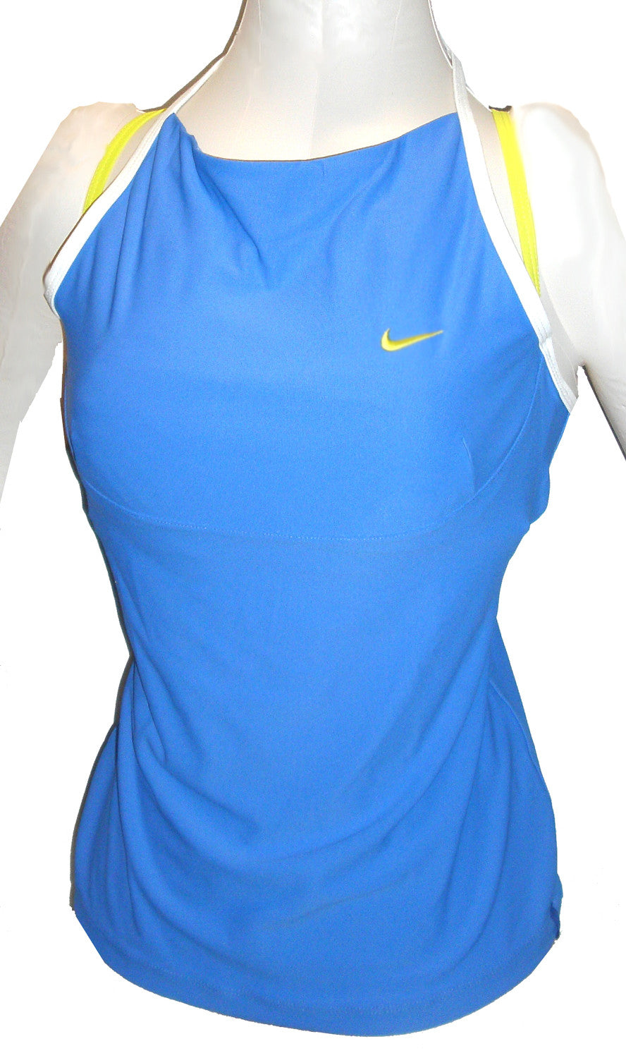 NIKE FIT DRY WOMENS SHARAPOVA TENNIS TANK TOP BLUE Only 2 Left