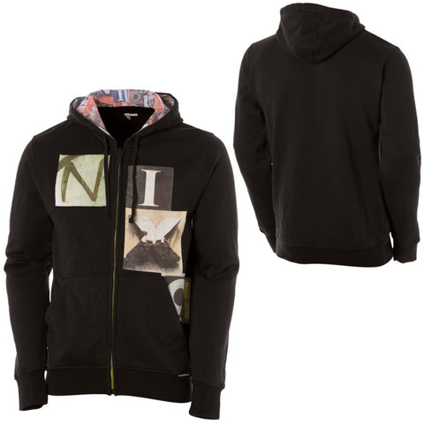 Nixon Watch Co Blockade Full-Zip Hooded Sweatshirt - Men's Black s m l