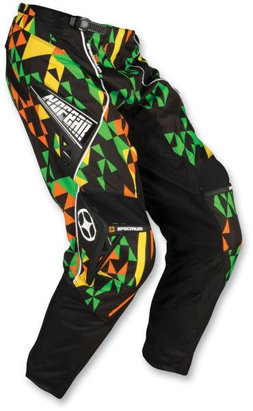 No Fear Motocross Youth Fast Times Spectrum Pants 22""