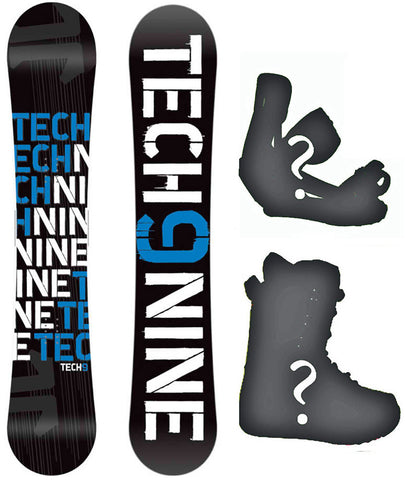 153cm Technine T-Money Black-Blue Camber Rocker Combination Board or Build a Snowboard Package With Boots And Bindings