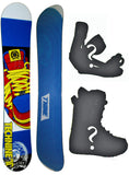 151cm, 153cm, 157cm Technine Mass Appeal Lion Blue Hybrid Cam Rock Rocker Snowboard Package With Boots And Bindings
