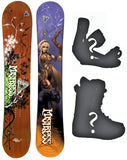 139 149 154cm Black Fire Mistress Snowboard, Build a Package with Boots and Bindings