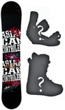 146cm Asian Can Controlerz Casino W-Camber Snowboard, Build a Package with Boots and Bindings