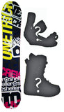 152cm Shelter Crew W-Camber Snowboard, Build a Package with Boots and Bindings