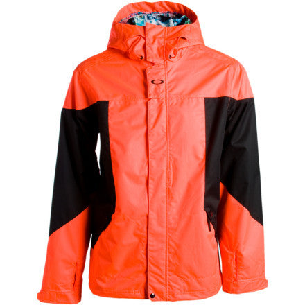 Oakley Karn Lite Snowboard Ski Jacket - Men 10/15k waterproof neon fire XXL jk522