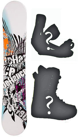 147cm Defiance Hipster Board or Build a Snowboard Package with Boots and Bindings